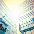 Stock Photo: Sunny high successful business centers