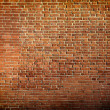 Grungy textured red brick  wall — Stock Photo #25369675
