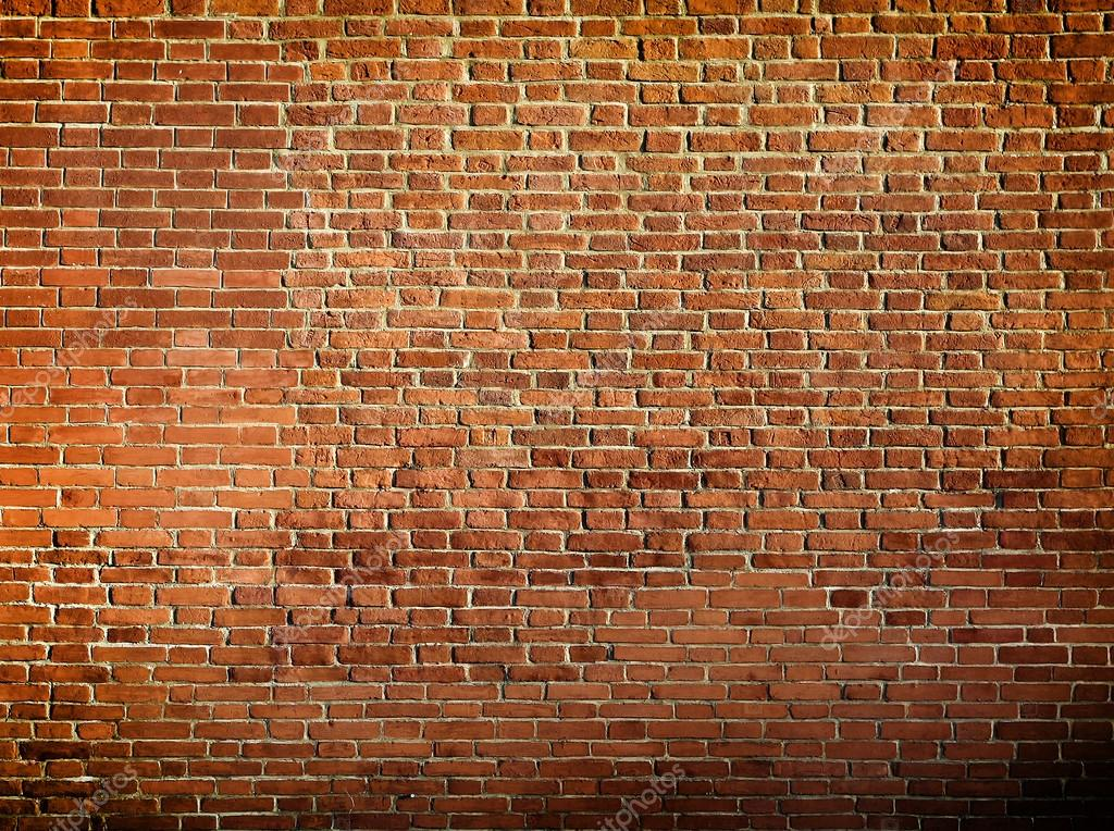Grungy Textured Red Brick Wall Stock Photo Vladitto