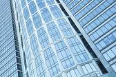 Glass building skyscrapers — Stock Photo