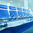 Waiting room with seats — Stock Photo