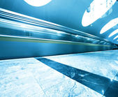 View of modern public metro station — Stock Photo