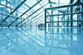 スチール ブルー グラス空港の天井に表示します。 — Stock fotografie