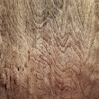 Closeup of dark wood in square composition — Stock Photo