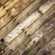 Closeup of diagonal dark woods — Stock fotografie