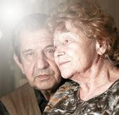 Elderly couple — Foto de Stock