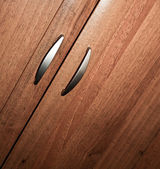 Part of wooden furniture details — Stock Photo