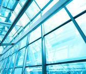 Arquitetura futurista dentro corredor de negócios contemporâneo, ai — Fotografia Stock