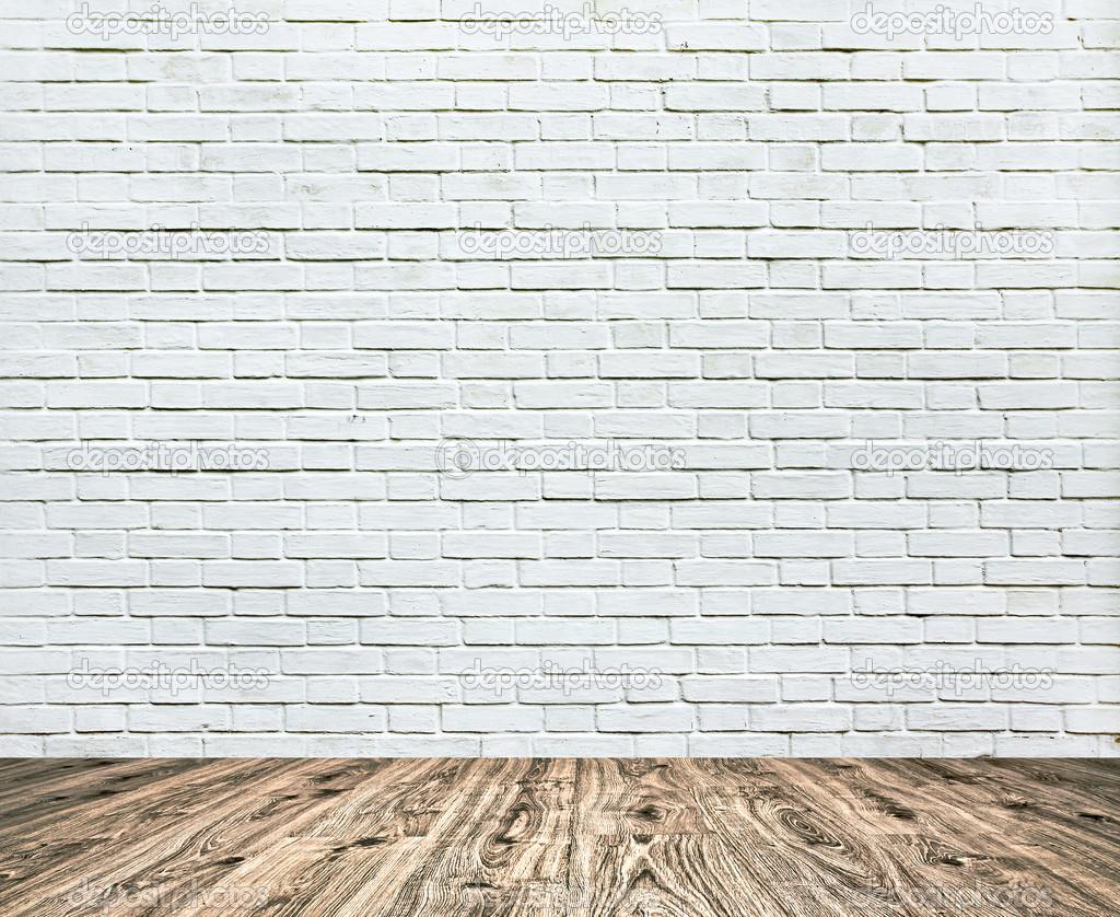 fond d ge grungy textur blanc brique et mur de pierre rouge avec parquet clair avec tableau. Black Bedroom Furniture Sets. Home Design Ideas