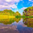 Stock Photo: Picturesque scene of beautiful rural lake