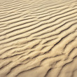 Puckered texture of sand beach — 图库照片