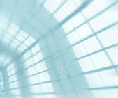 Textured ceiling inside office center — Stock Photo