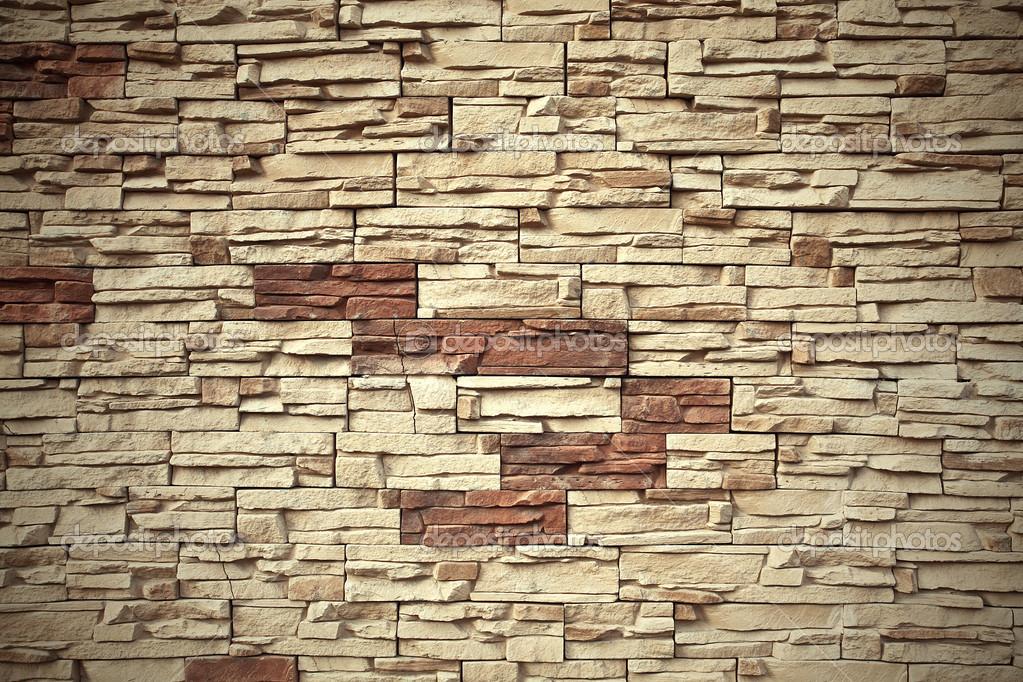 Sfondo di grungy invecchiato con texture mattoni bianchi e rosso muro di pietra con pavimento in - Muro pietra interno ...