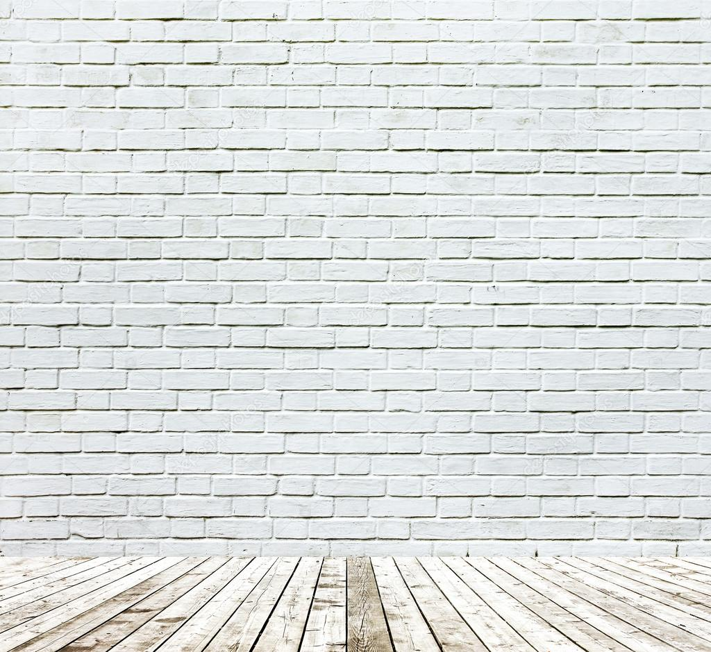 Background of aged grungy textured white brick and stone wall wi Stock Photo ? Vladitto #26769837