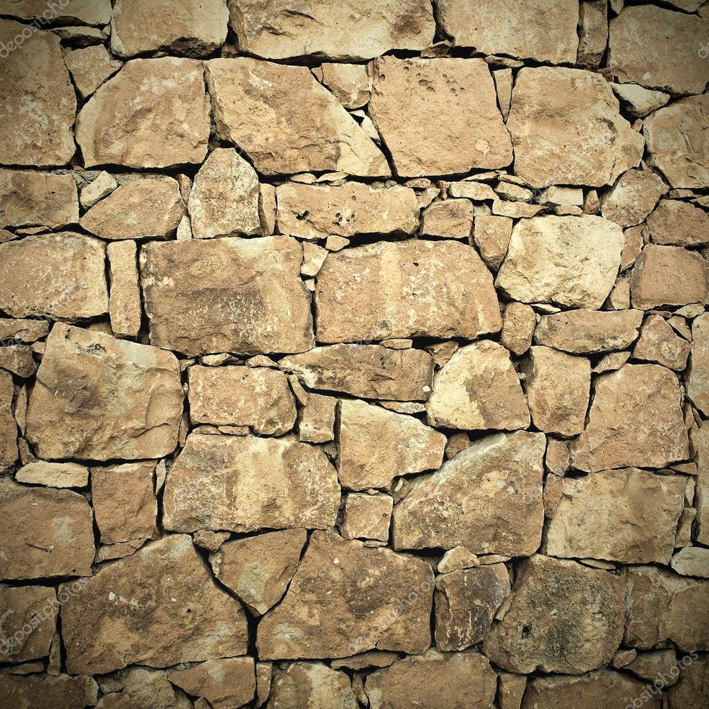 texture muro pietra : sfondo di texture di muro in pietra ? Foto Stock ? Vladitto ...