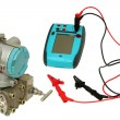 Differential sensor and calibrator. — Foto Stock