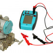 Differential sensor and calibrator. — 图库照片