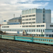 Stock Photo: Railway station of Aktobe.