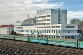 Railway station of Aktobe. — Stock Photo