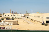 Industrial zone of the city of Aktau. — Stock Photo
