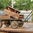 Old trolley with scrap metal. — Stock Photo #26411005
