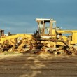 Stock Photo: Broken grader.