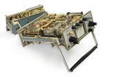 Old oscilloscope. — Stock Photo