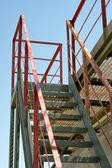 Escaleras industriales. — Foto de Stock