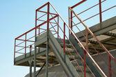 Industrielle Treppen. — Stockfoto