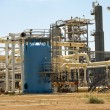 Stock Photo: Gas Processing Plant.