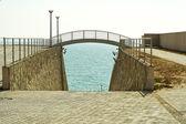 Small bridge. — Стоковое фото