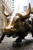 Wall Street Bull — Stock Photo