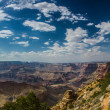Desert view watchtower Grand Canyon — Stock Photo