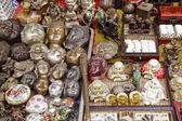 Buddha heads — Stock Photo