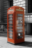 London phone box — Stock Photo