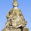 Statue of Lille, Place de la Concorde, Paris — Stock Photo #13314360