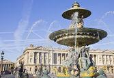 Place de la concorde, paryż — Zdjęcie stockowe