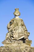 Statue of Lille, Place de la Concorde, Paris — Stock Photo