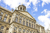 The Royal Palace in Dam, Amsterdam, Holland — Stock Photo