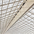 Charles de Gaulle airport in Paris, France - Stock Photo