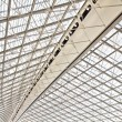 Charles de Gaulle airport in Paris, France — Stock Photo