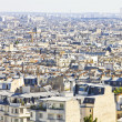 Aerial view of Paris — Stock Photo
