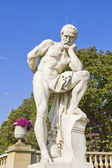 Statue in the Luxembourg Gardens, Paris — Stockfoto