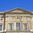 Louvre museum building, Paris, France - Stock Photo