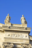 Details in the Gare du Nord train station, Paris — Stock Photo