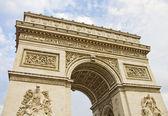 Arc de triomphe, paris — Stockfoto