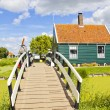 Stock Photo: Country side landscape in Netherlands