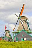 ολλανδική ανεμόμυλους — Φωτογραφία Αρχείου