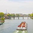 The Seine river, Paris — Stock Photo #13550324