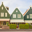 Houses in Volendam, The Netherlands — Stock Photo